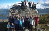 7.klasse på tur til Nordtun