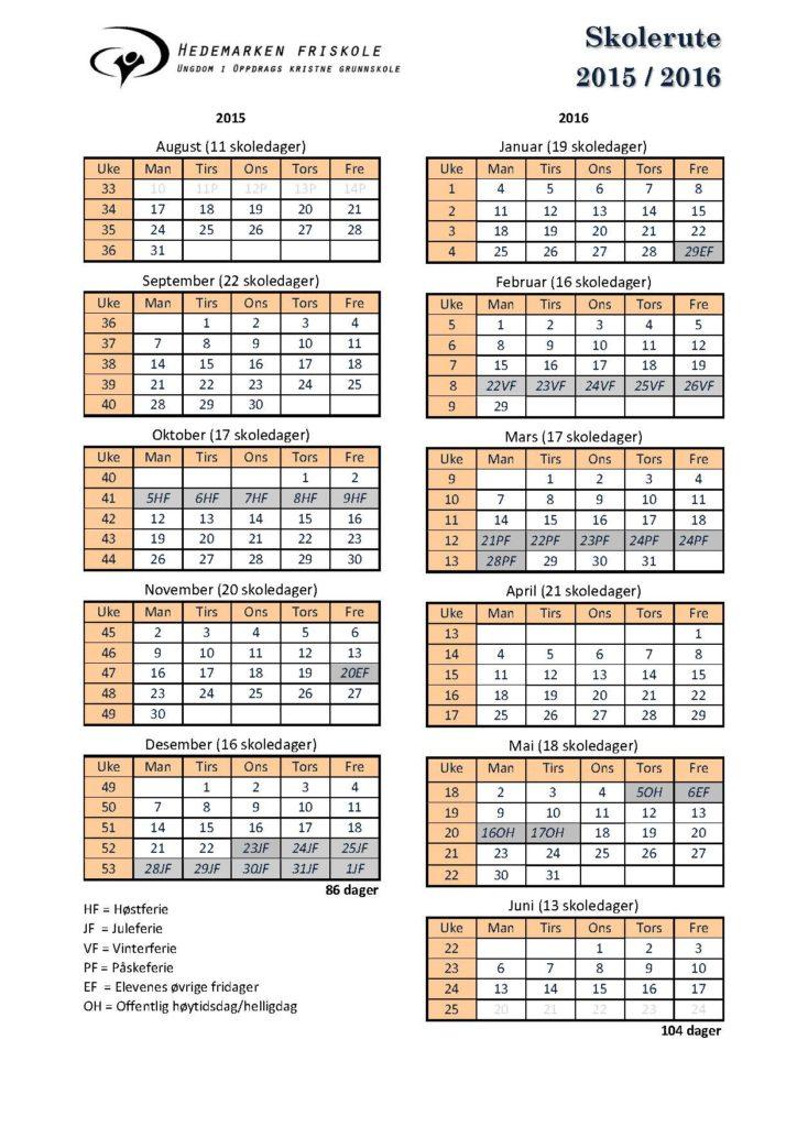 Skolerute 2015-16 pr sep15