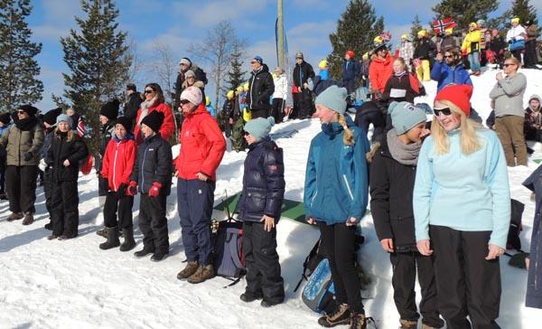 Friskolen på ski-nm 2013