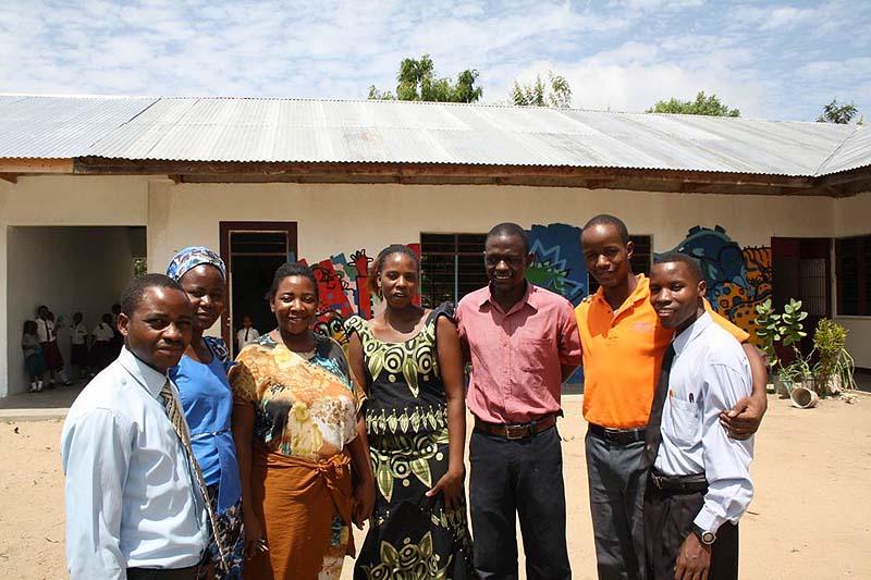 Skolen i Tanzania