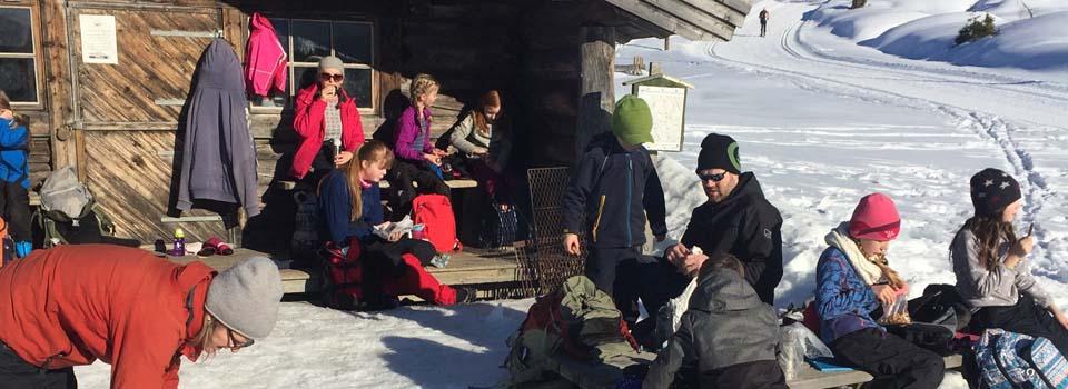 Flott skidag