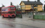 London-buss på besøk